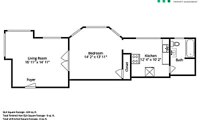Bathroom, 2529 Ellsworth St, 2