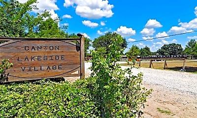 Community Signage, Canton Lakeside Village, 0