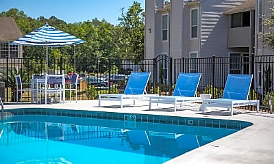 Pool, Southern Oaks Apartments, 1