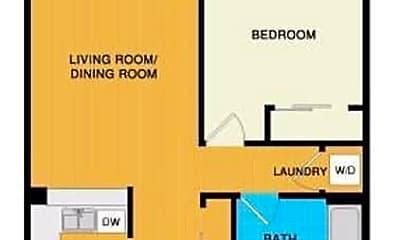 Bedroom, 750 Van Ness Ave, 2