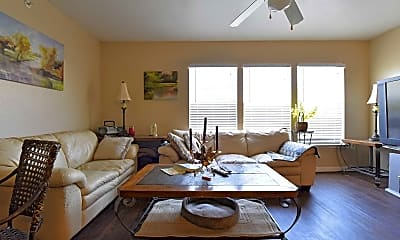 Living Room, Kimble Senior Housing, 1