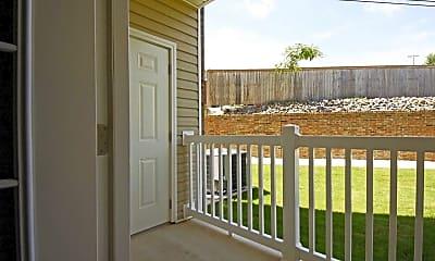 Patio / Deck, Villas Of North Little Rock, 2
