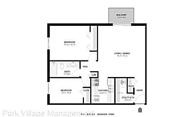 Bedroom, 2250 N Cedar Ave, 2