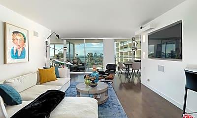 Living Room, 201 Ocean Ave 504B, 1