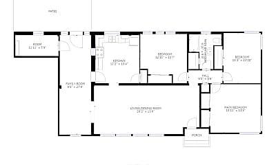 Bedroom, 740 Martinwood Rd, 2