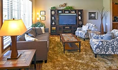 Living Room, The Villas At Red Cedar Canyon, 1