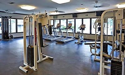 Fitness Weight Room, Oak Park, 0