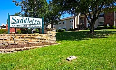 Community Signage, Saddletree, 2