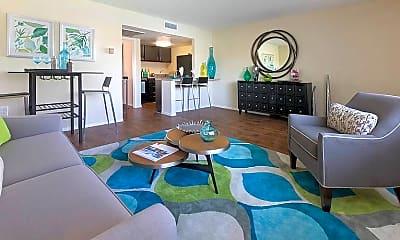 Living Room, 801 S University Dr, 1