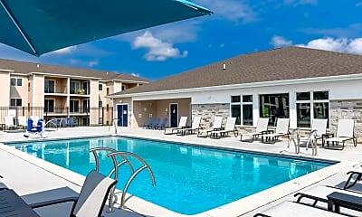 Pool, Lakeshore Flats, 1