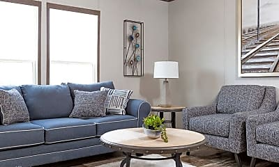 Living Room, 101 Ash St, 1