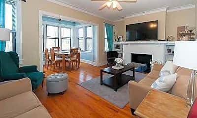 Living Room, 618 Hinman, 1