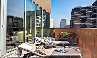 Patio / Deck, 1 Wall Street Court, 2