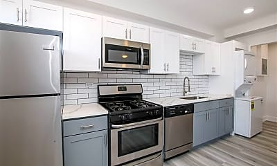 Kitchen, The Mabel Exchange Apartments, 0