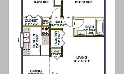 627 Roosevelt #1 floor plan SQ.png, 627 N Roosevelt St, Apt 1, 0