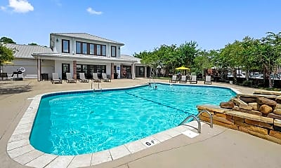 Pool, Oxford Point Apartments, 1