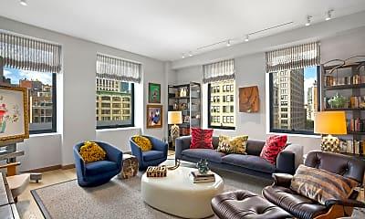 Living Room, 88 Lexington Ave 1206, 0