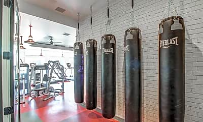 Fitness Weight Room, The Madison - Per Bed Lease, 2