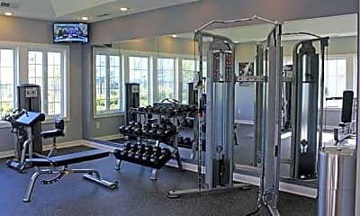 Fitness Weight Room, Brookview Apartments, 2