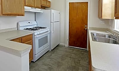 Kitchen, Downing Apartments, 0