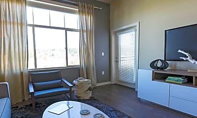 Living Room, Elan Redmond Town Center, 1