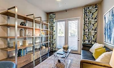 Living Room, 3414 Oak Grove Ave, 0