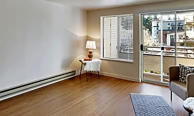 Living Room, Townside Flats, 1