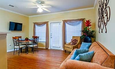 Living Room, Cienega-Linda Apartments, 1