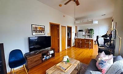 Living Room, 1427 N Wood St, 0