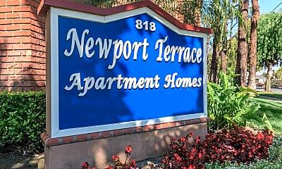 Community Signage, Newport Terrace, 2