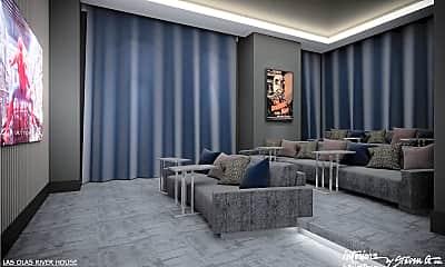 Living Room, 333 Las Olas Way 1901, 2
