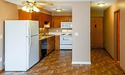 Kitchen, Mankato Tower Apartments, 0