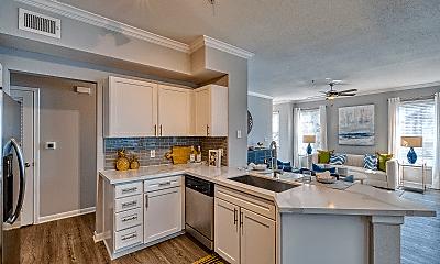 Kitchen, The Carlton Apartments, 2