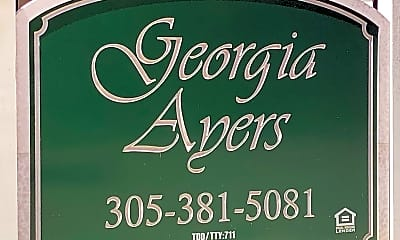 Georgia Ayers, 1