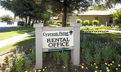 Community Signage, Cypress Point, 2