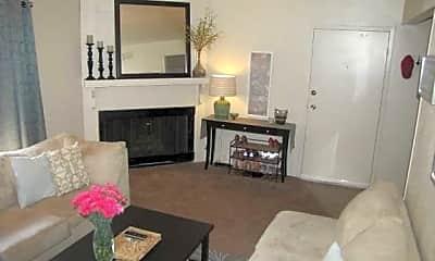Living Room, Aspen Hills, 1