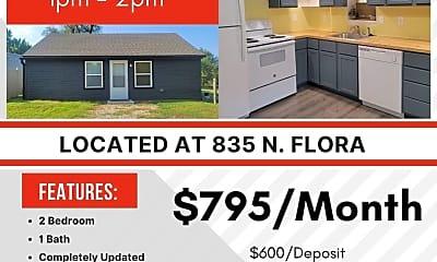 Building, 835 N Flora St, 2