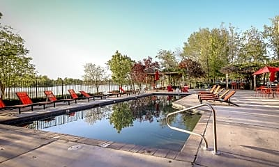 Pool, Whitewater Park Apartments, 1