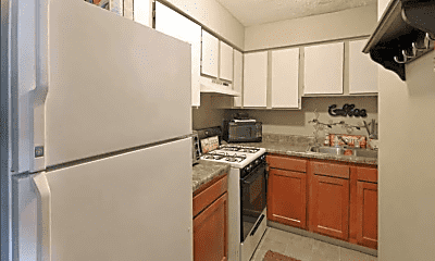 Kitchen, Winterwood Apartments, 1