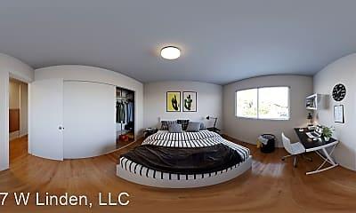 Bedroom, 1147 W Linden St, 1