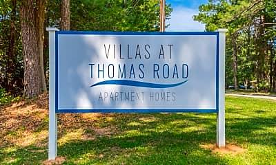 Community Signage, 8373 Thomas Rd, 2