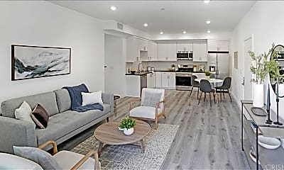 Living Room, 11408 Sarah St 202, 1