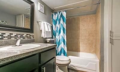 Bathroom, Residence at Midtown, 2