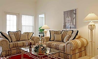 Living Room, Cricket Ridge Apartments, 1
