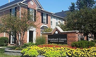 Building, Stratford Green Apartment Homes, 1
