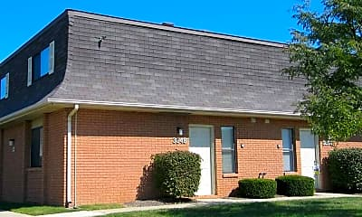 Building, Aries Court Apartments, 0