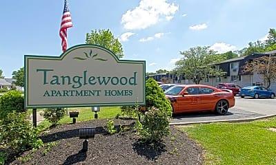 Community Signage, Tanglewood Apartments, 0