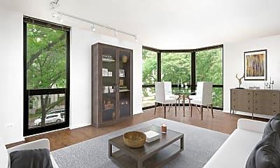 Living Room, 1000 North LaSalle, 0
