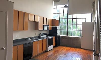Kitchen, LL Sams Historical Lofts, 1