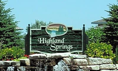 Highland Springs Apartments, 1